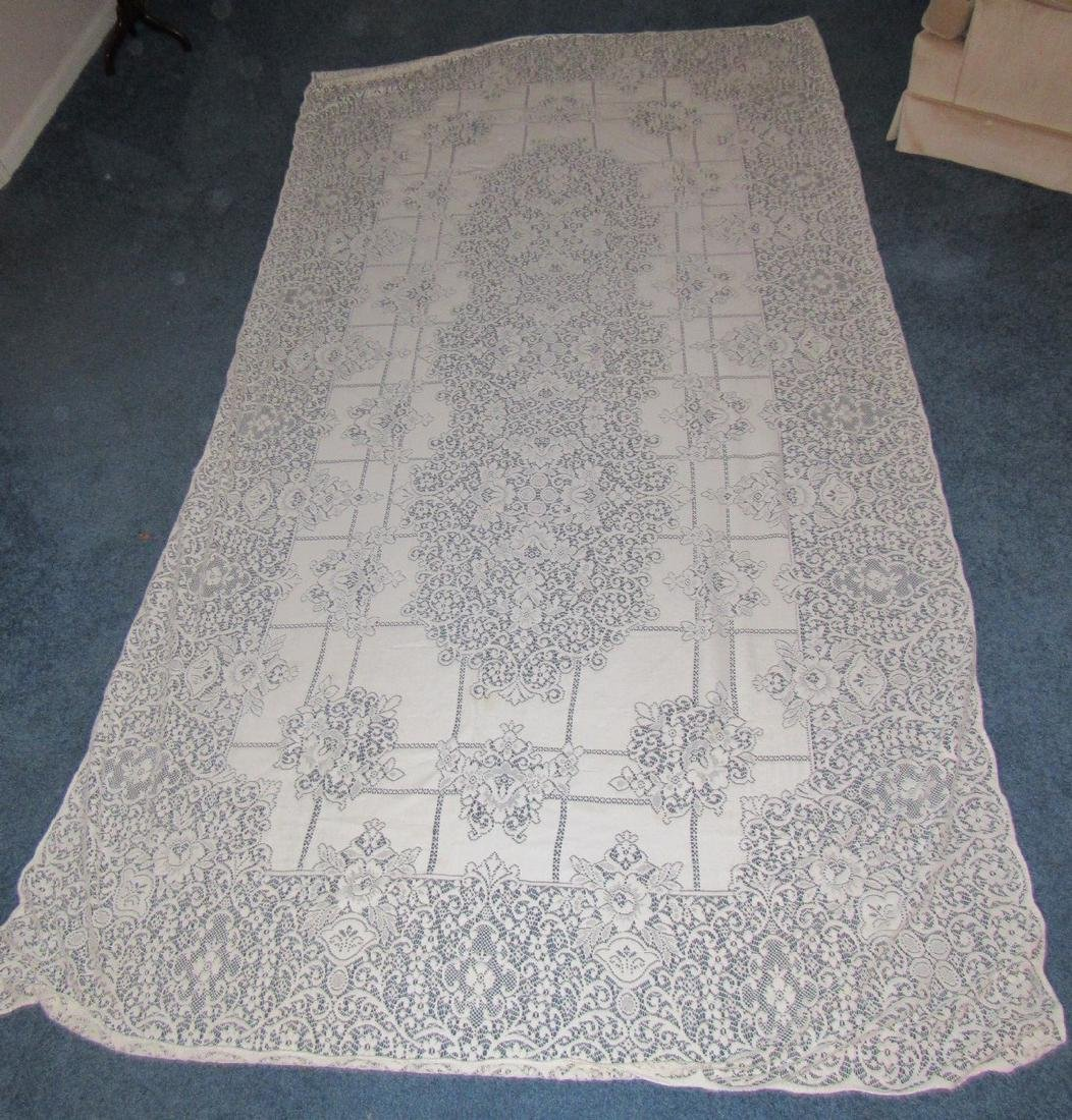 Large Lace Table Cloth
