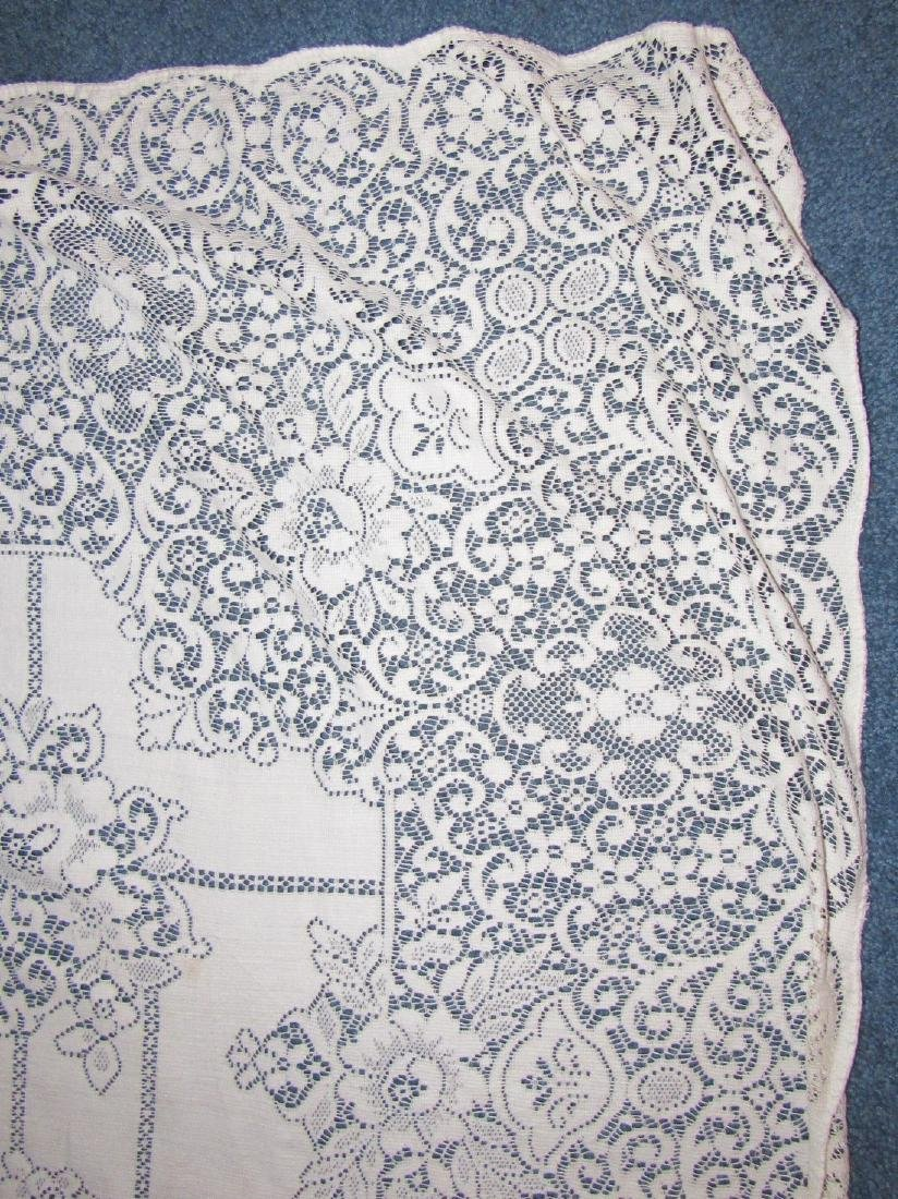 Large Lace Table Cloth - 2