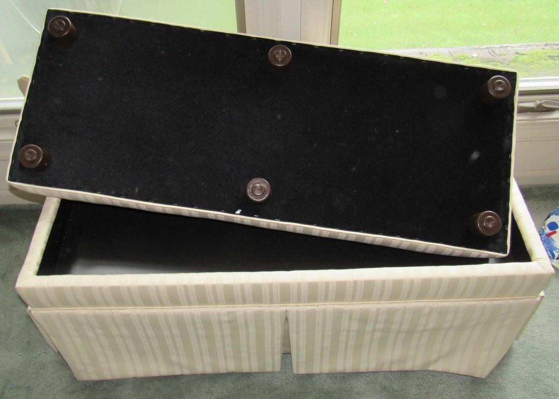 Upholstered Vanity Bench - 2