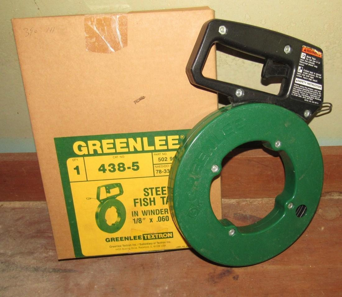 Greenlee 438-5 Steel Fish Tape Snake