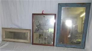 3 Antique Mirrors