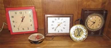 Vintage Clock Lot