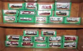 25 Vintage Miniature Hess Trucks Airplanes Voyagers