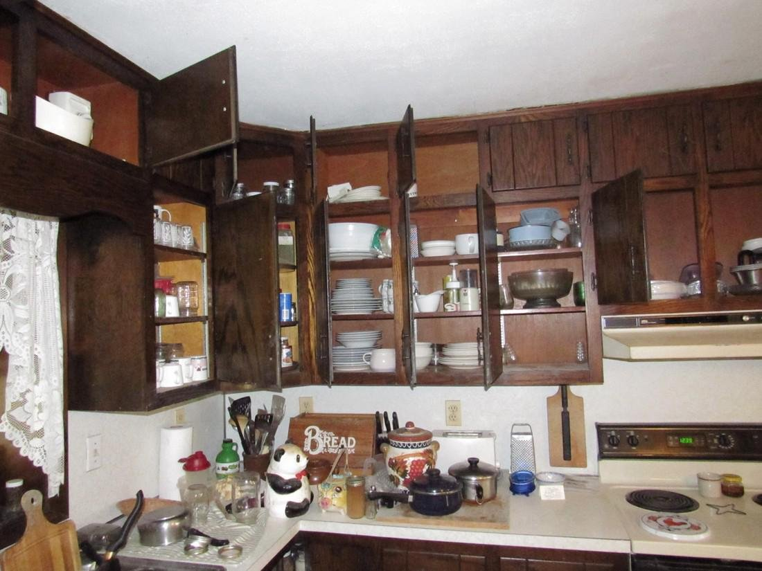 Contents of Kitchen Cabinets & Counter - 2