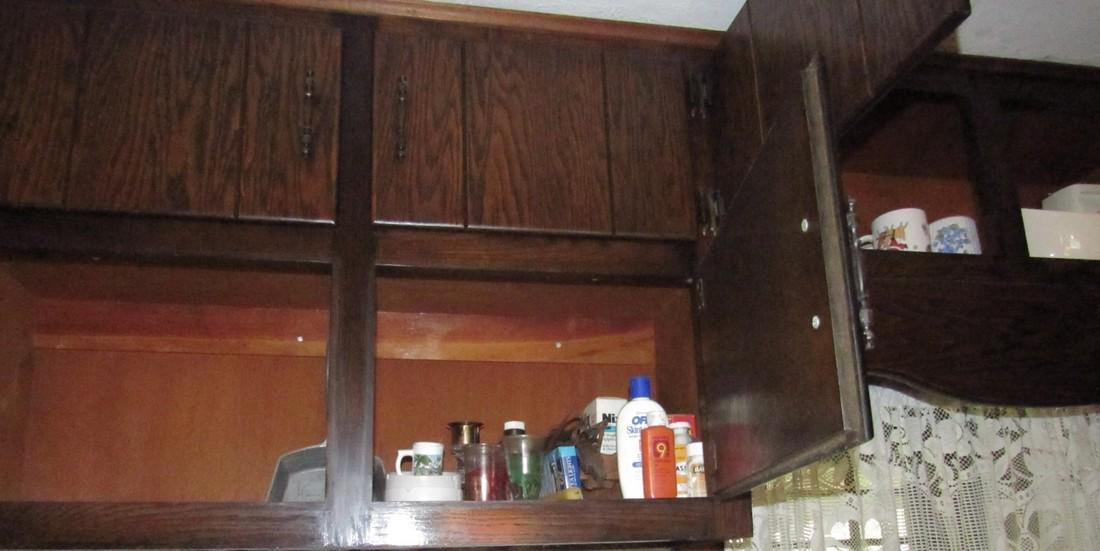 Contents of Kitchen Cabinets & Counter - 3