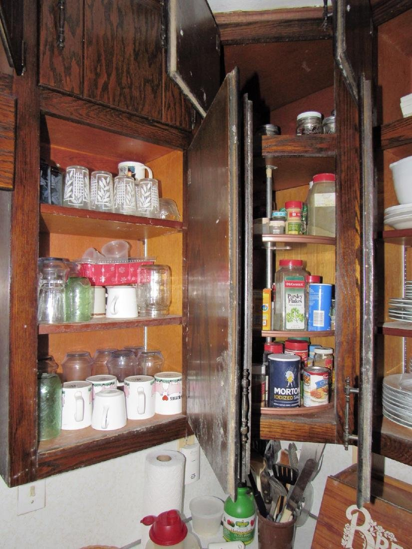 Contents of Kitchen Cabinets & Counter - 5