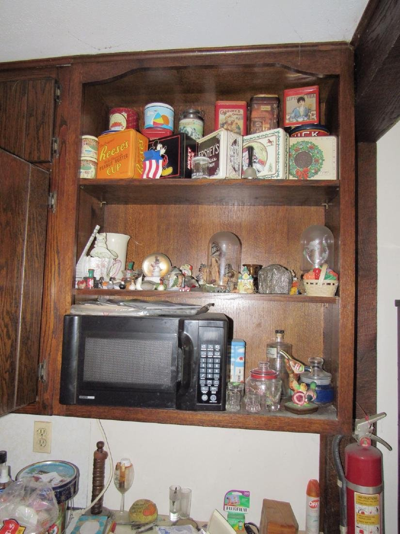 Contents of Kitchen Cabinets & Counter - 6