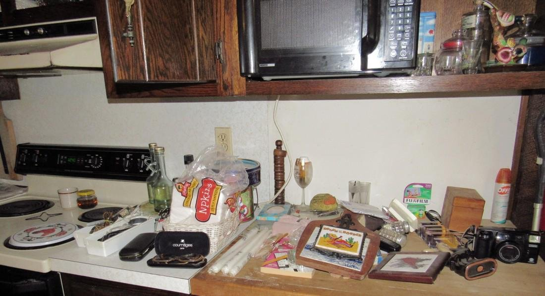 Contents of Kitchen Cabinets & Counter - 7
