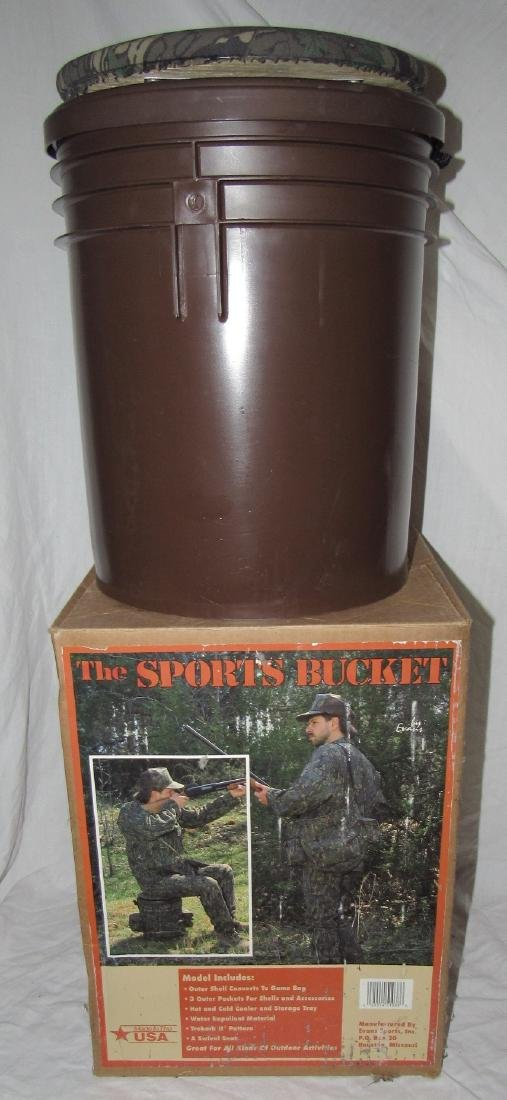 Sports Hunting & Fishing Bucket