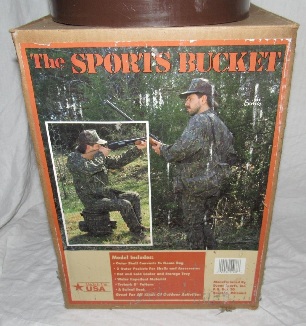Sports Hunting & Fishing Bucket - 2