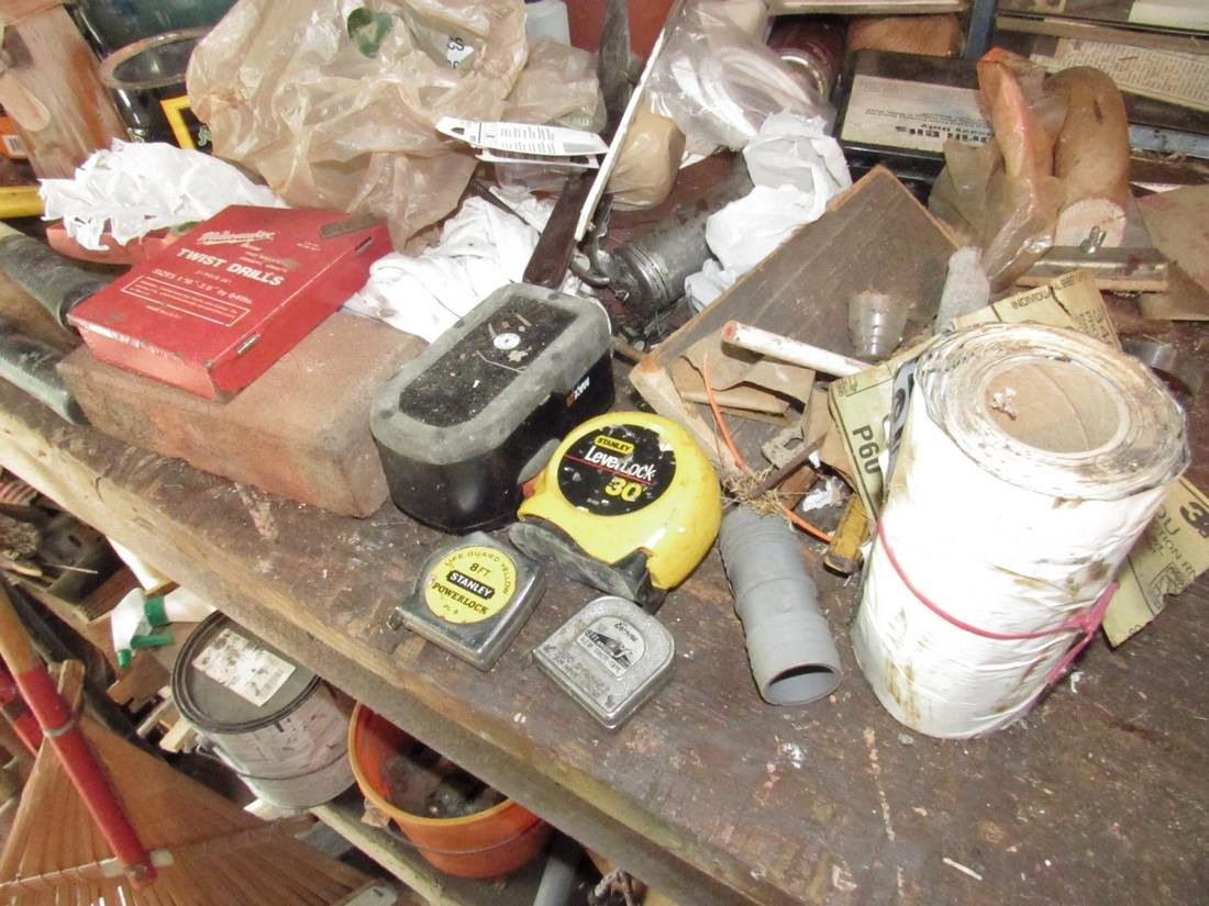 Partial Work Bench Contents - 8
