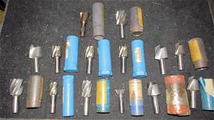 14 End Mills & Rough Cutters
