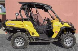2013 Can Am Commander XT 1000 Side by Side ATV