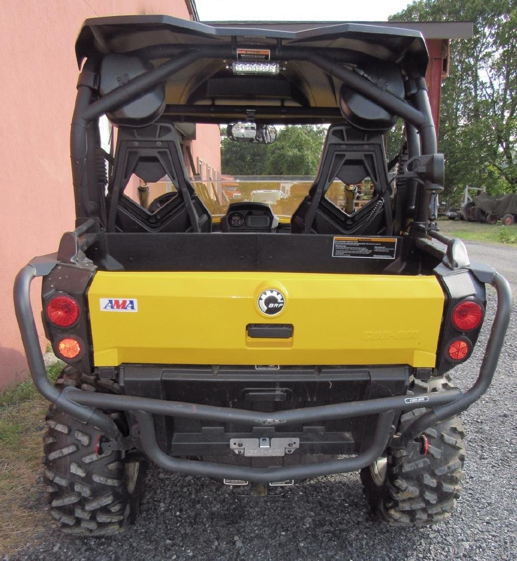 2013 Can Am Commander XT 1000 Side by Side ATV - 4