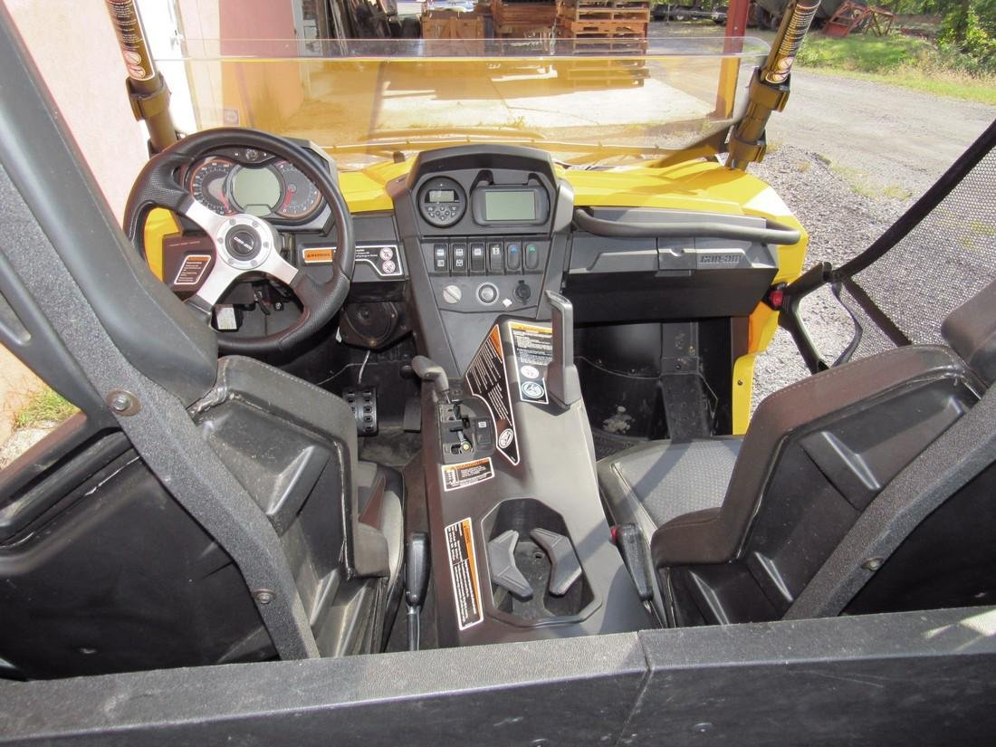 2013 Can Am Commander XT 1000 Side by Side ATV - 7