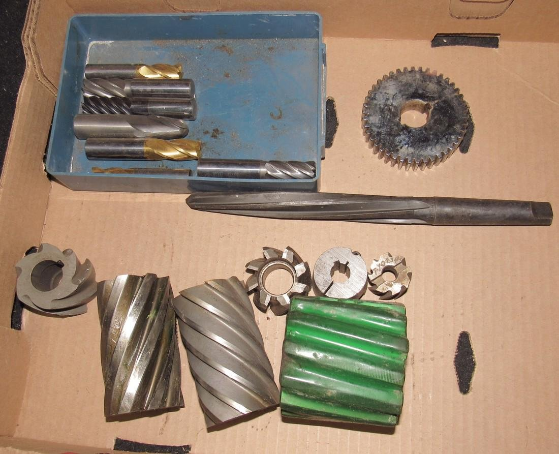 Milling Machine Cutters / Reamers