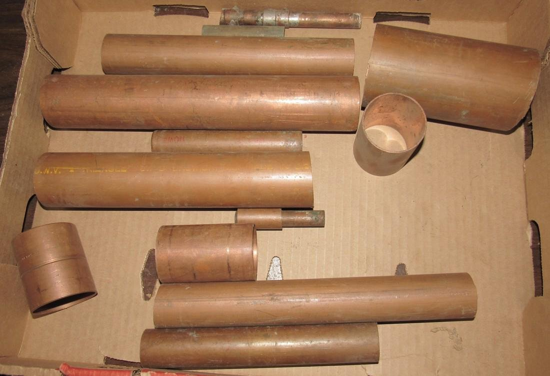 """Copper Pipe 2"""" Coupling"""
