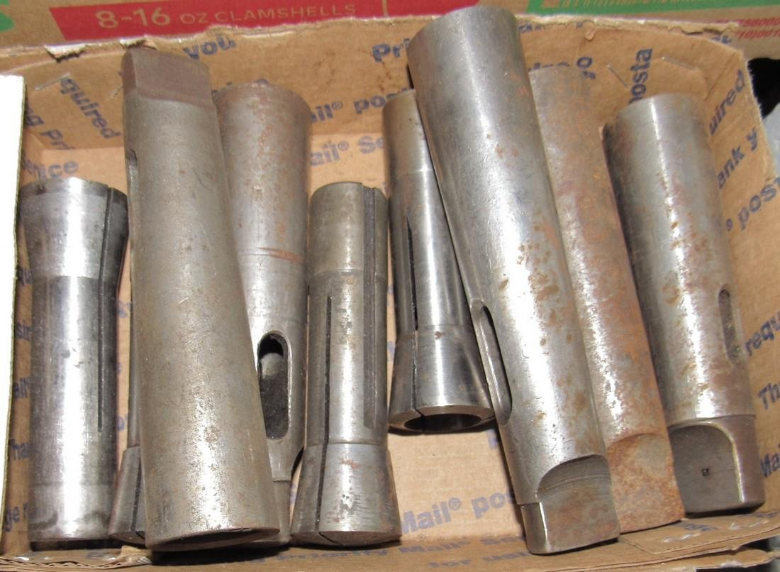 Collets and Tapered Drill Shanks