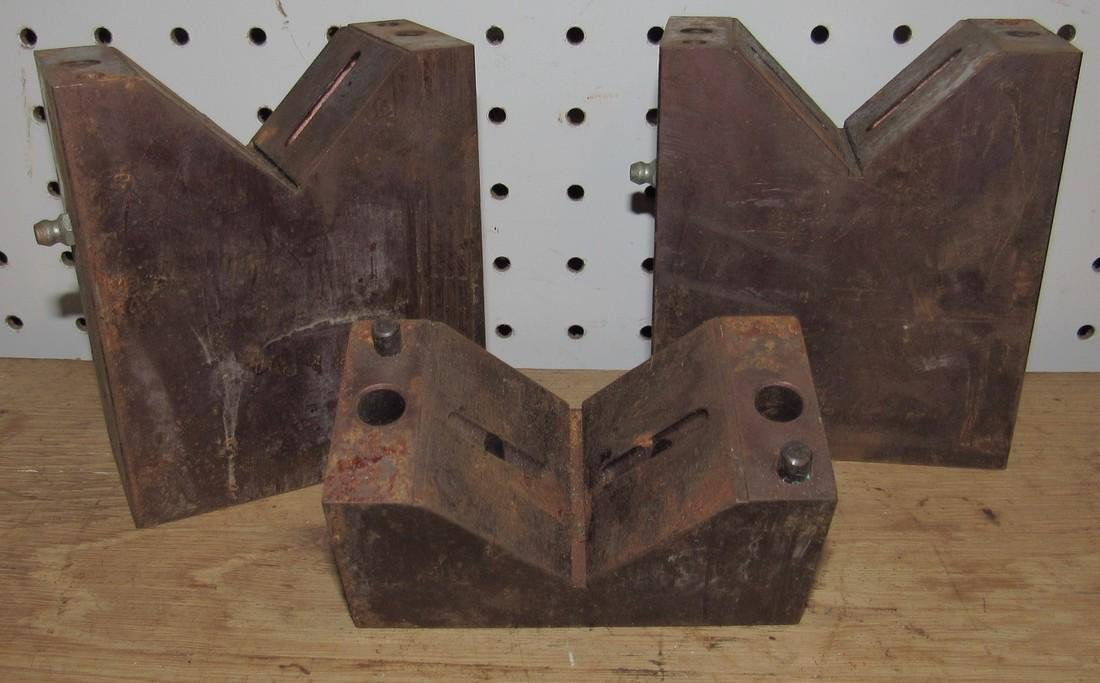 3 Machinists V Blocks