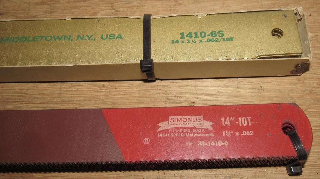 "Victor Molyflex Simonds 14"" Power Hacksaw Blades - 2"