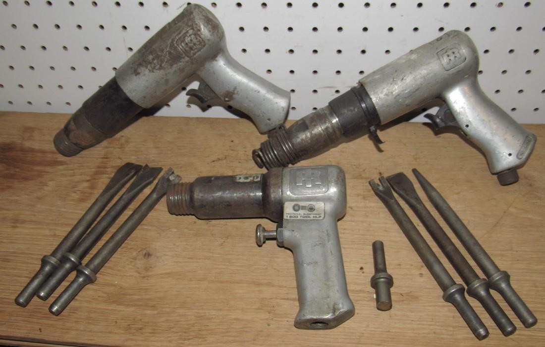 3 Ingersoll Rand Chipping Guns & Chisels
