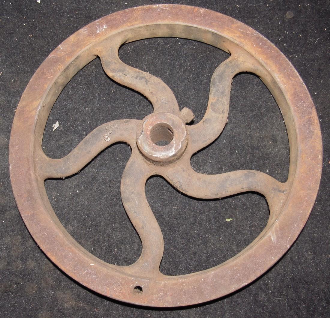 Antique / Vintage Industrial Wheel Steampunk