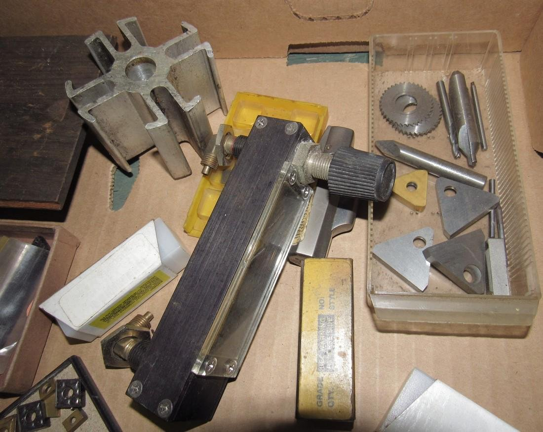 Lathe Cutters & Misc - 4