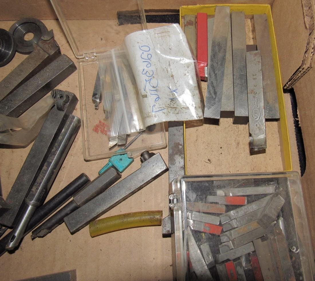 Large Lot of Lathe Cutters - 3