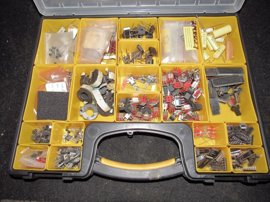 Parts / Storage Case with Electrical Components