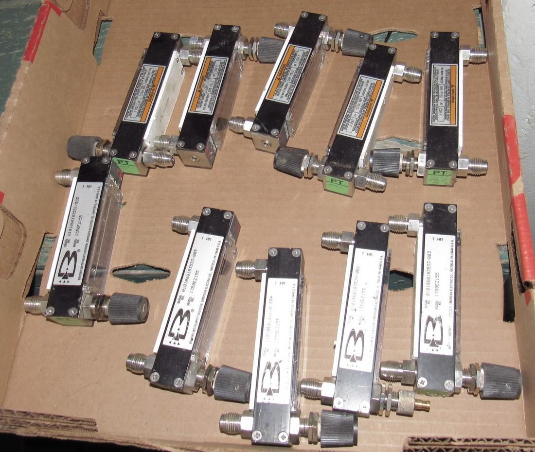 10 Brooks Sho Rate Flow Meters