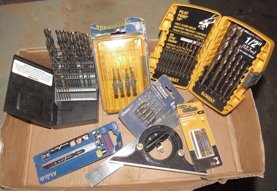 Square Drill Bits Counter Sinks