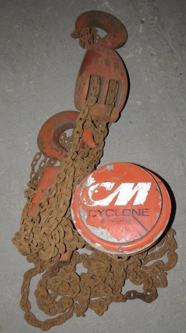 Cyclone 10 Ton CM Chain Hoist