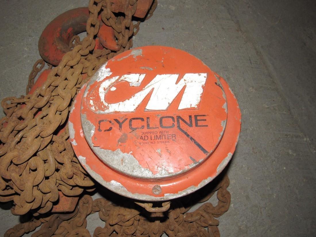 Cyclone 10 Ton CM Chain Hoist - 2
