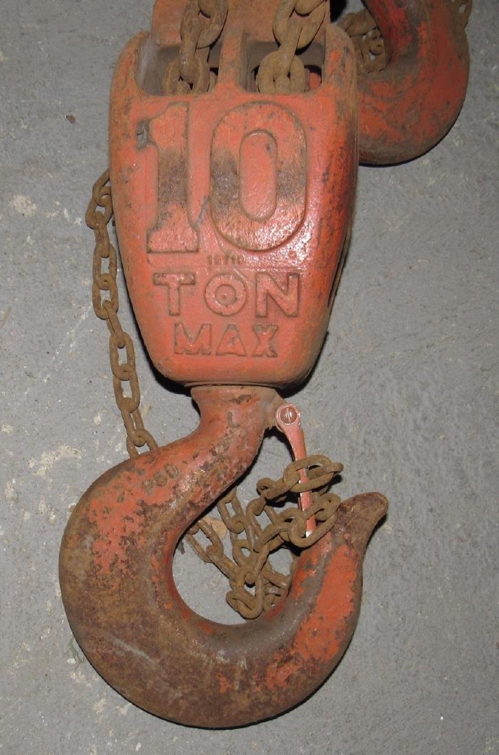 Cyclone 10 Ton CM Chain Hoist - 3