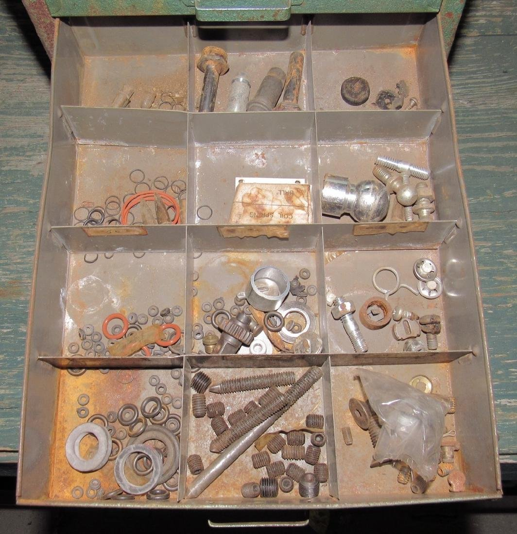 Parts Organizer Ring Clips Springs Hardware - 3