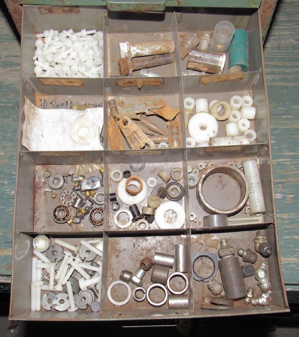 Parts Organizer Ring Clips Springs Hardware - 4