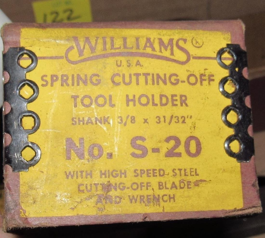 Lathe Tool Holders & Wrenches Williams - 6