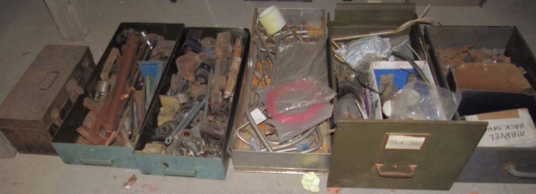 Large Lot of Misc Parts & Scrap Iron