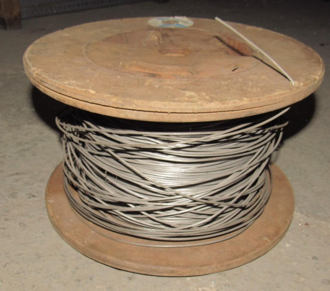 Partial Spool of Wire
