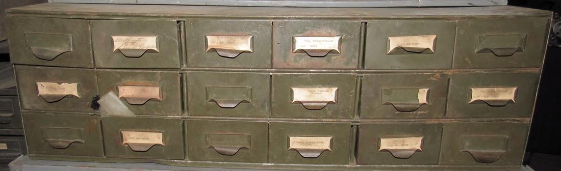 Parts Cabinet & Contents