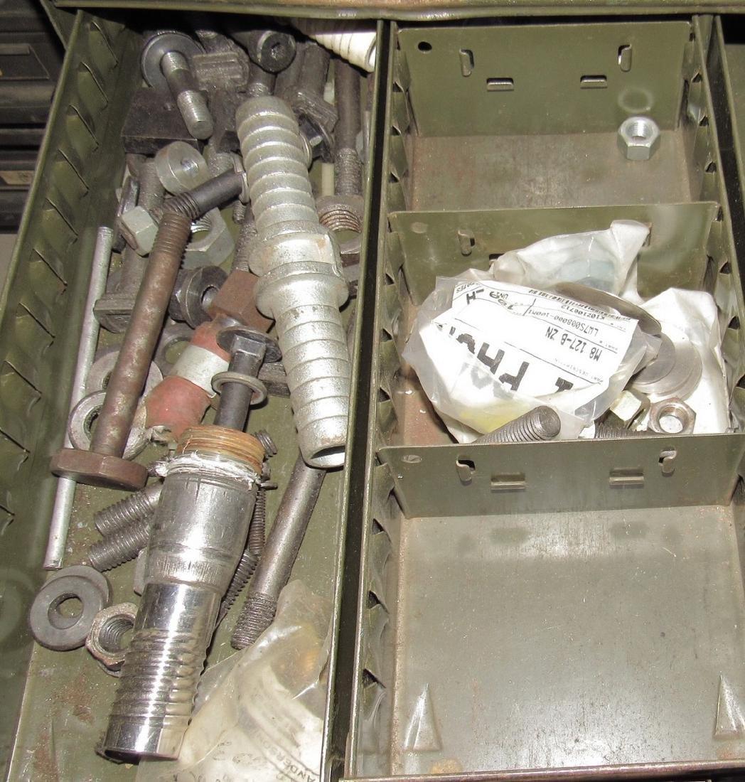 Parts Cabinet & Contents - 5