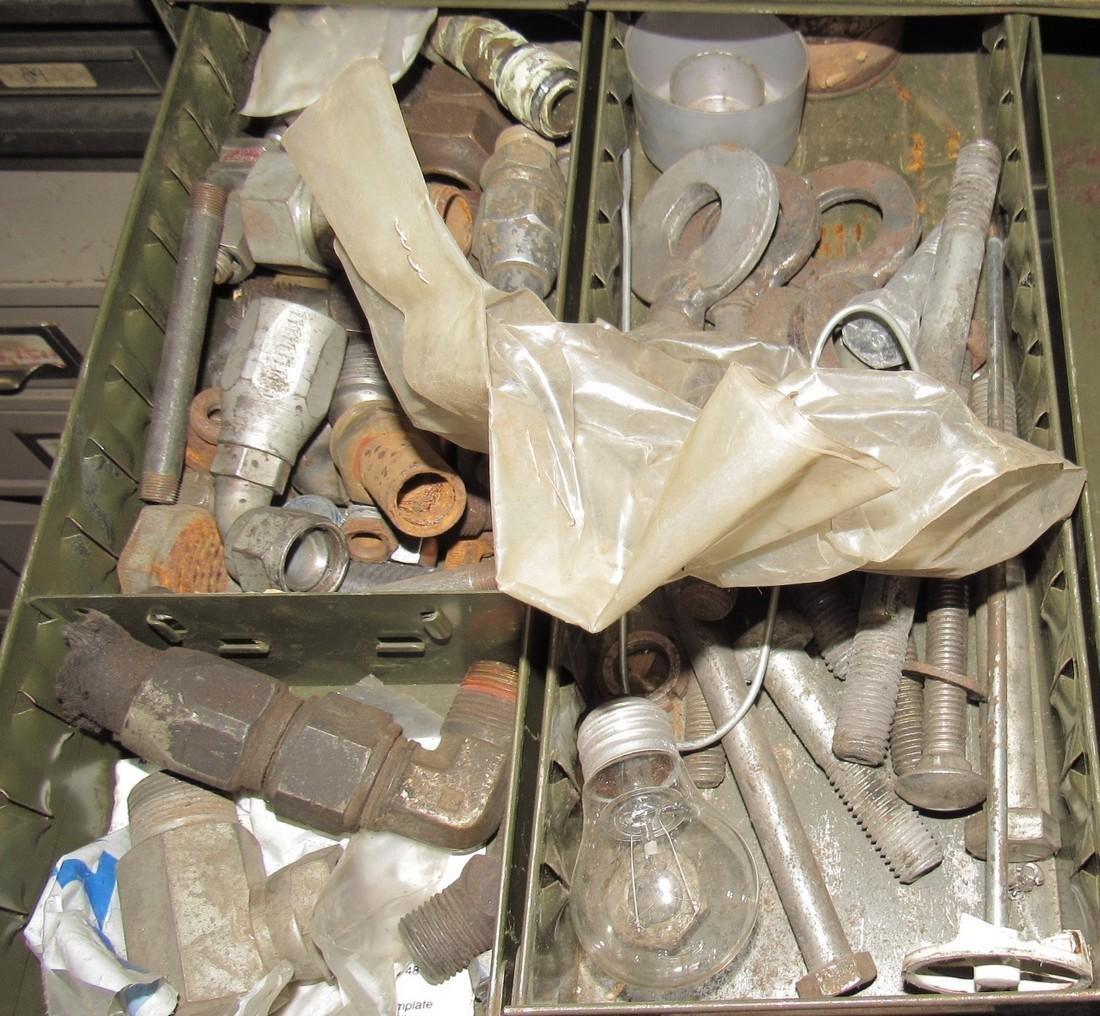 Parts Cabinet & Contents - 6