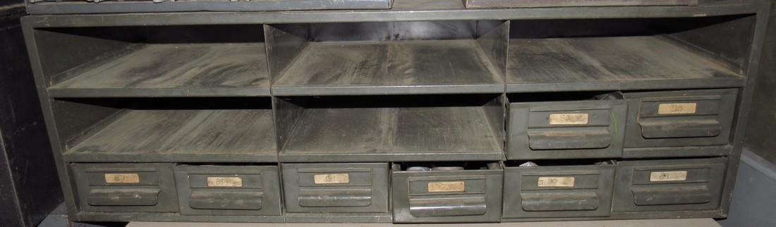 Parts Cabinet Gears Roll Pins Hardware