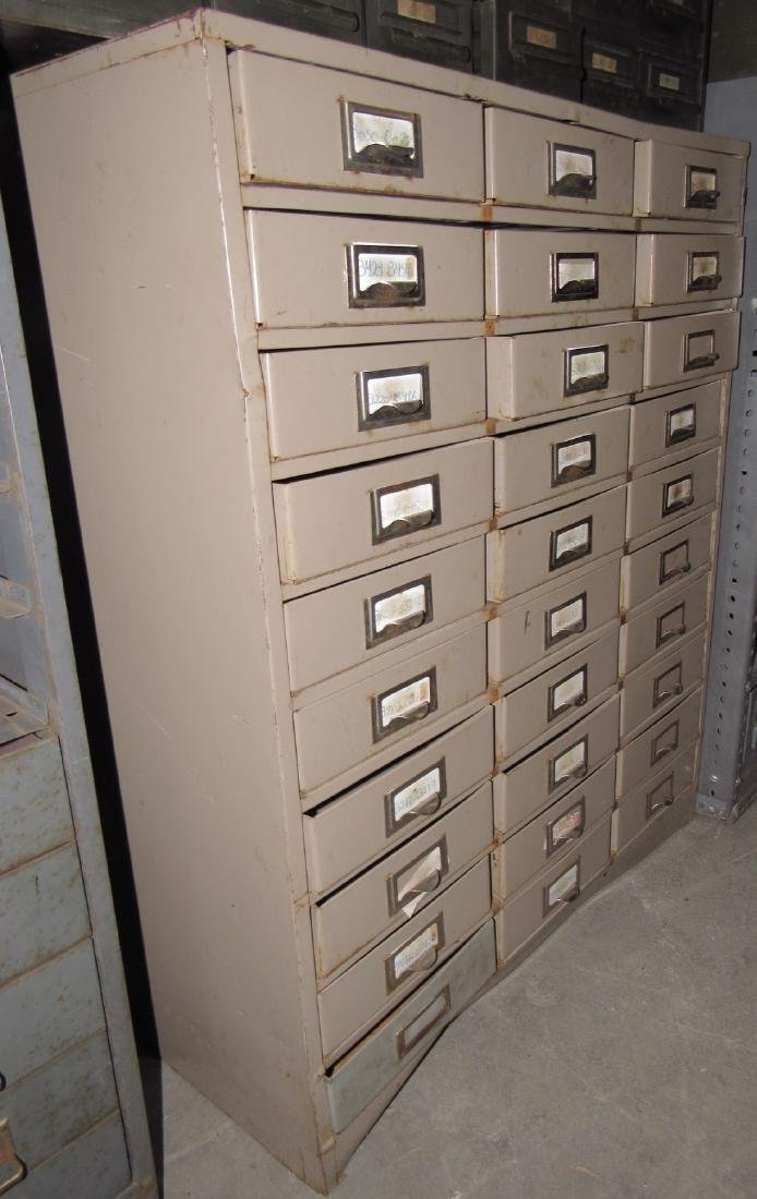 30 Drawer Parts Cabinet - 2