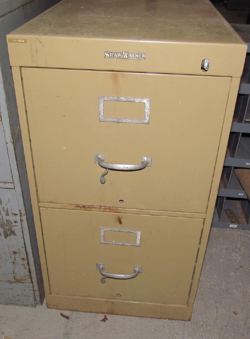 Pillow Blocks & File Cabinet