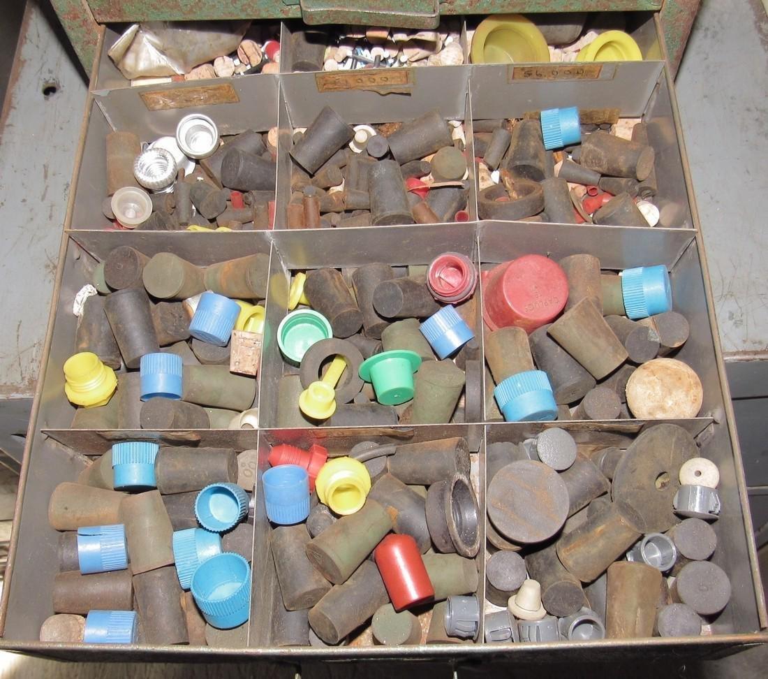 Parts Cabinet Roller Cotter Pins & Misc Hardware - 5