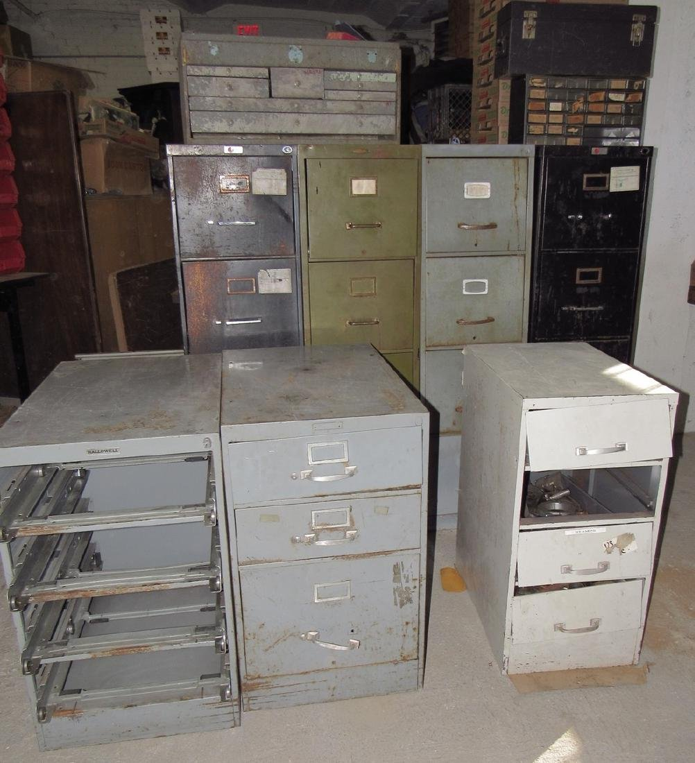 File Cabinets Contents Scrap Iron Lot