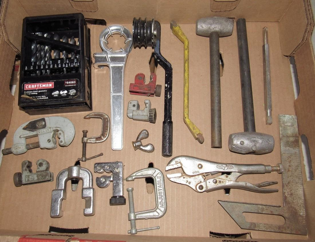 Lead Hammers Tubing Cutters Vise Grips Clamps
