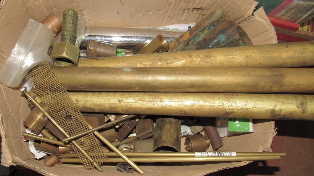 Box of Scrap Brass