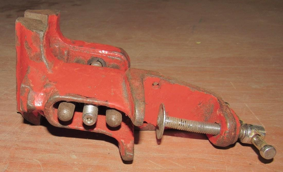 """Clamp on Vise with 3"""" Jaws - 3"""